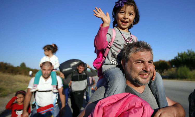 Syrští uprchlíci (AP Images)