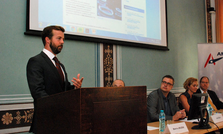 "U.S. Embassy hosted a panel discussion ""Central European Gas Markets"""