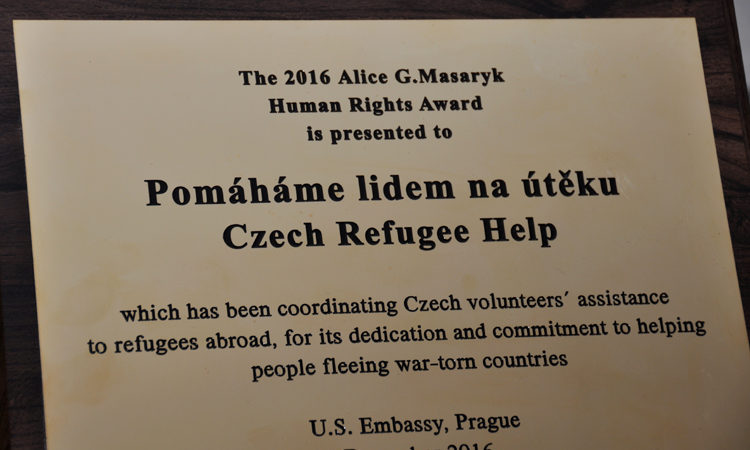2016 Alice Garrigue Masaryk Award