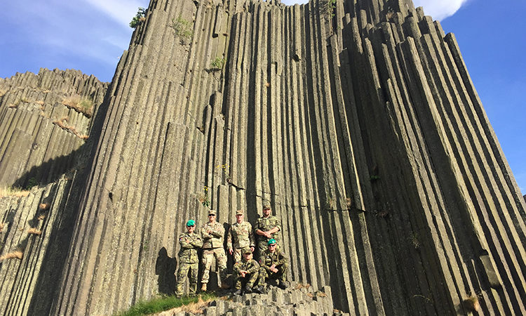 Soldiers from the Nebraska Army National Guard spent a great week with the 31st CBRN Regiment in Liberec the end of June 2017.