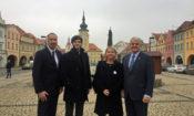 Ambassador King visits Zatec