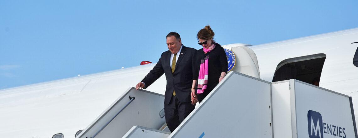 Ministr zahraničí USA Mike Pompeo navštívil Českou republiku