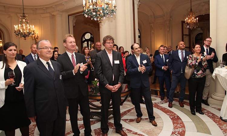 cting Deputy Chief of Mission Joann Lockard hosted the International Visitor Leadership Program/ IVLP Alumni reception at the Chief of Mission Residence on September 13.
