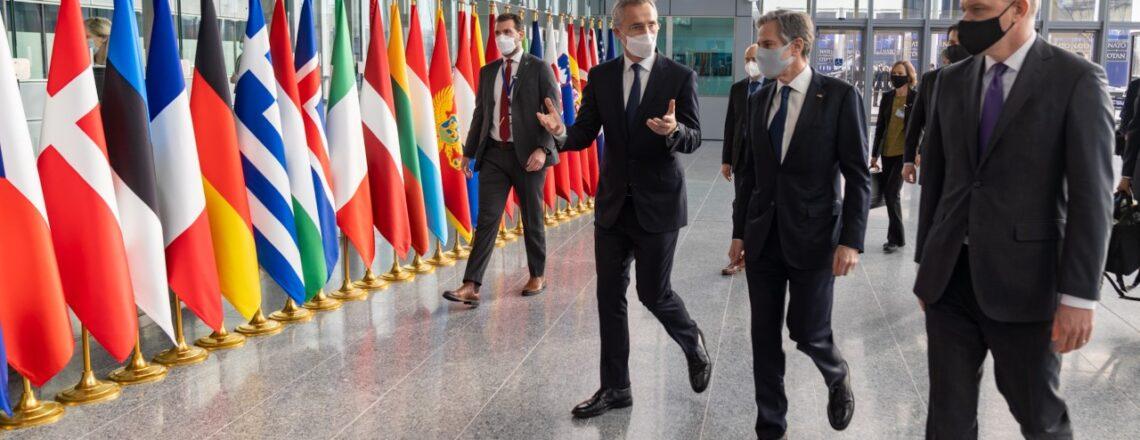 Ministr zahraničí Blinken navštívil Belgii