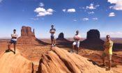 Radek Němec, West coast crew, Monument Valley, UT (účastník programu SWT 2018)