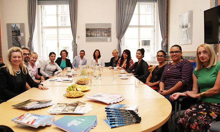 Roma Fellows discussed their fellowship experiences within organizations throughout the Czech Republic this year.