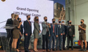 The Embassy participated in ceremonial opening of new UPS facility in Tuchomerice