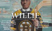 Willie O'Ree byl první Kanaďan černé pleti v NHL; hrál za Boston Bruins