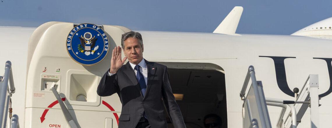 Ministr zahraničí Blinken navštívil Německo, Francii, Itálii a Vatikán