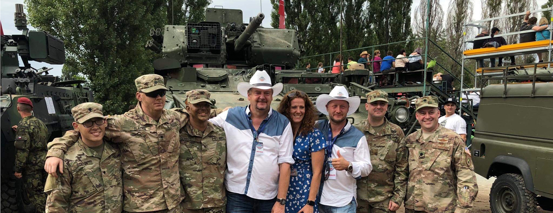 Charge d'affairs Jennifer Bachus Attends the Annual Friends Fest in Pardubice