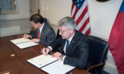 U.S. Secretary of Defense and Czech Minister of Defense Sign Contract for 12 Bell Helicopters