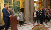 Ambassador Stephen King hosted the Human Rights Reception at his residence on September 10.