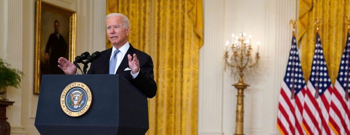 Remarks by President Biden on Afghanistan