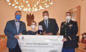 Major Joshua Passer se zúčastnil předání čestného stipendia generála Pattona