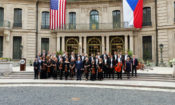 Rezidenci velvyslance USA rozezněl koncert PKF — Prague Philharmonia