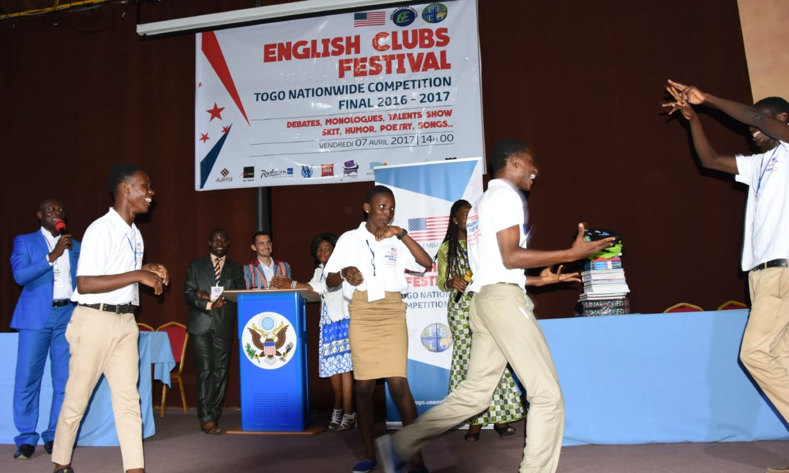 Grand Final of English Clubs Competition | U S  Embassy in Togo