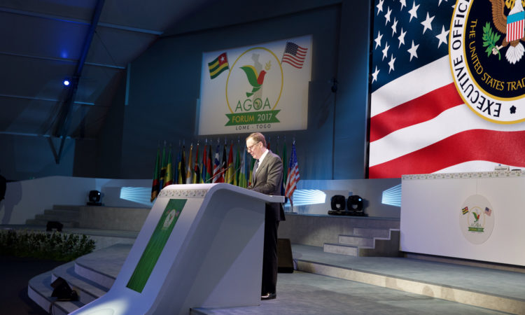 Mr. Robert Lighthizer, United States Trade Representative (USTR), during his remarks at the opening of the ministerial plenary