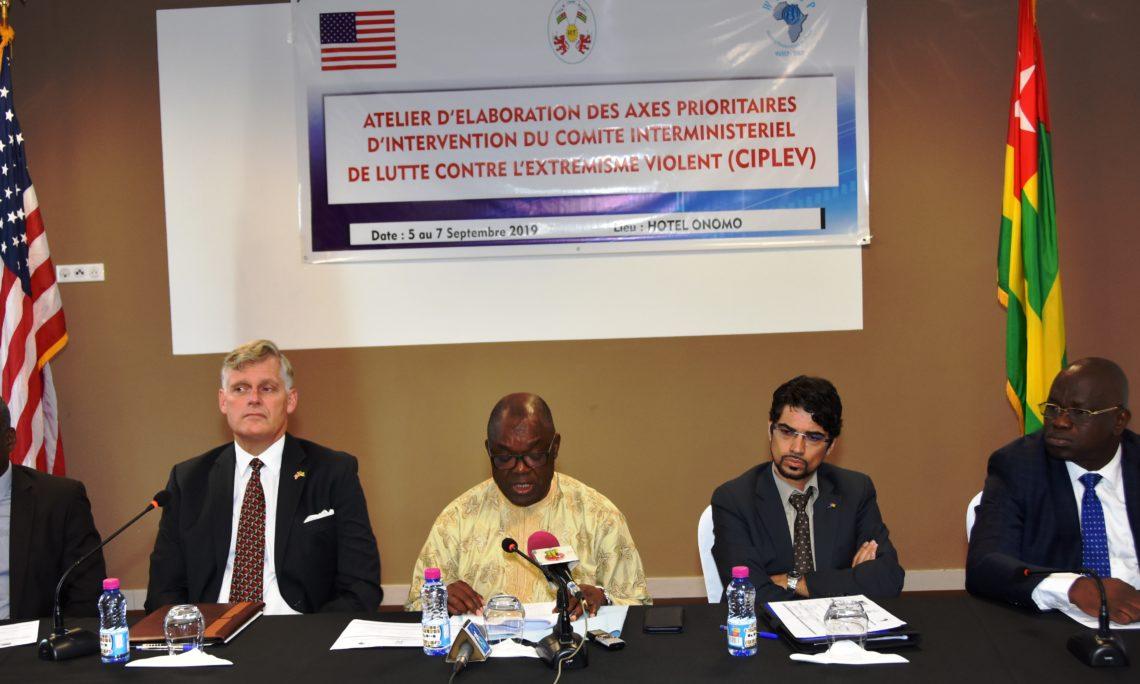 Ambassador Eric Stromayer and the partners