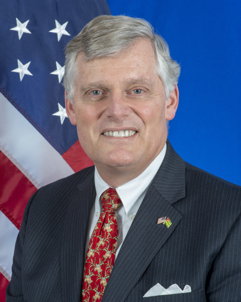 Photo of Ambassador Eric William Stromayer
