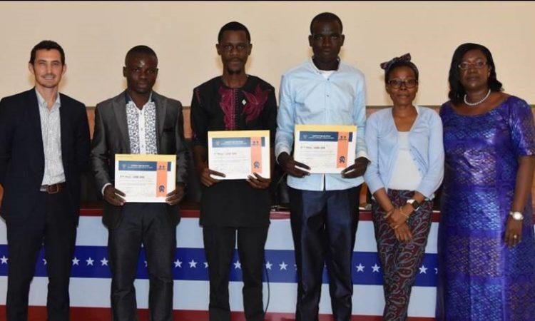 Gagnants concours – compétition mini projets (encadrés par les membres du jury)