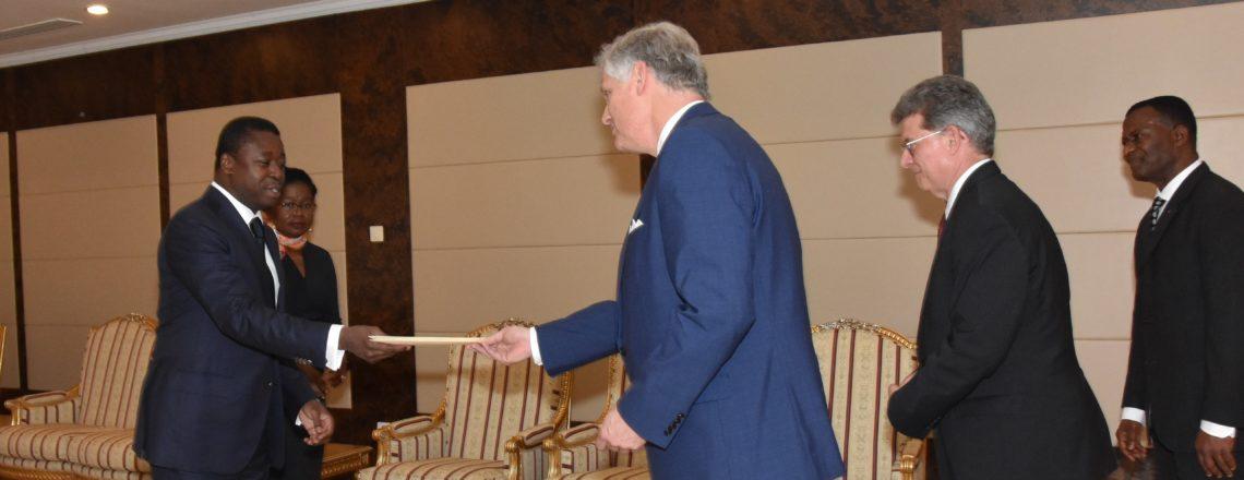 New U.S. Ambassador to Togo Presents his Credentials