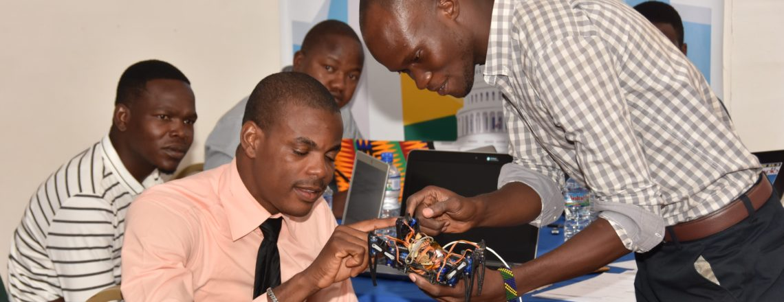 American Spaces Coordinators from Across West Africa Gather in Lome for STEM Workshop