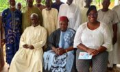 PAO with the Muslim Clergy in Sokode