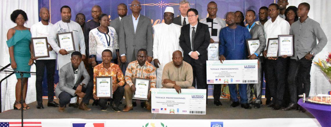 Les meilleurs journalistes togolais primés