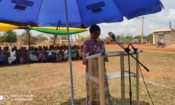 The Mayor Ayawavi Aziadekey during her remark