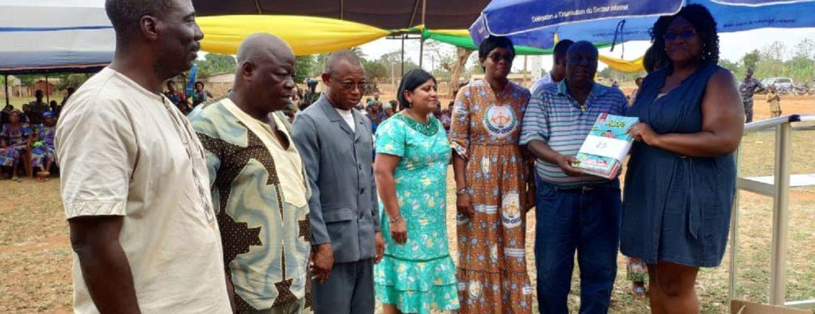 Le mois de la femme célébré avec les communautés à la base.