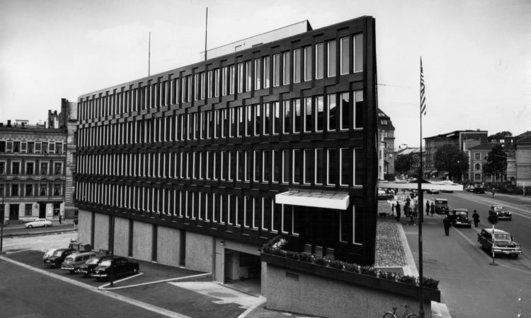 U.S. Embassy in Oslo, 1959