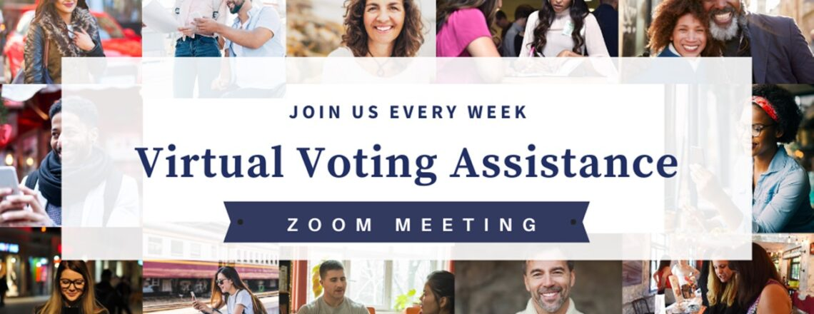 Virtual Voting Assistance on Zoom