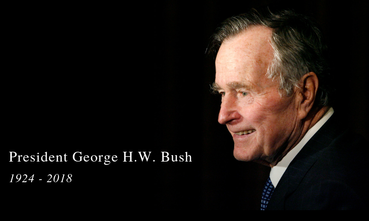 Fallecimiento George H. W. Bush