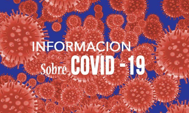 Información sobre COVID-19