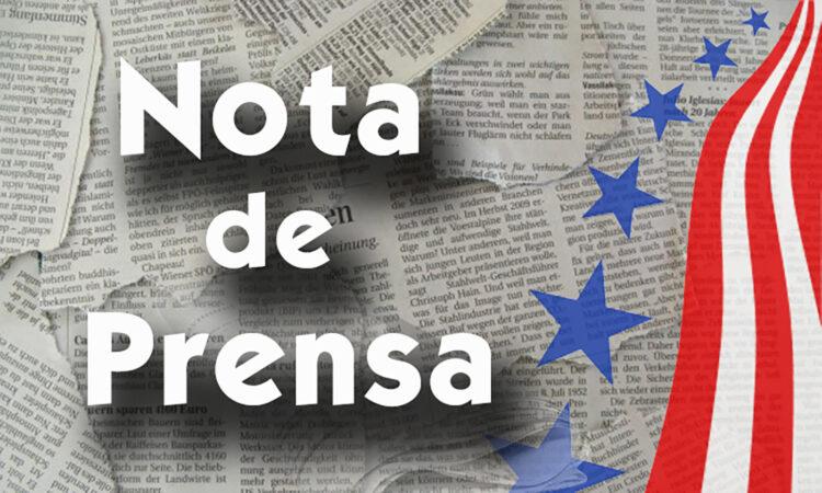 Grafica de Nota de Prensa