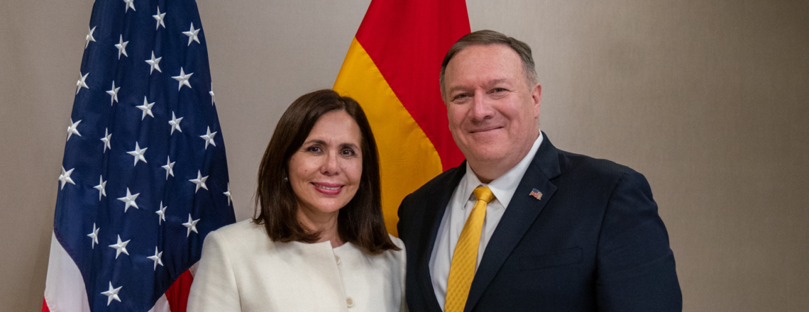 Secretary Pompeo's Meeting with Bolivian Foreign Minister Longaric