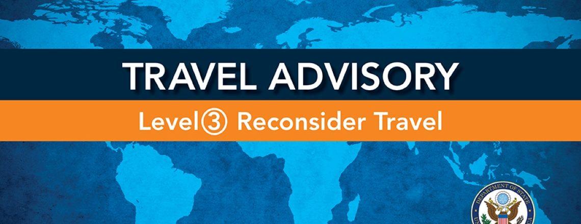 Travel Advisory: Bolivia Level 3: Reconsider travel to Bolivia