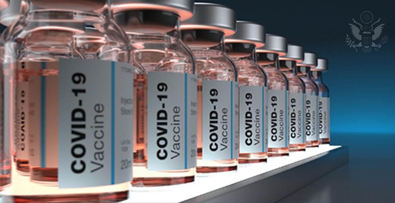 Varias vacunas en fila