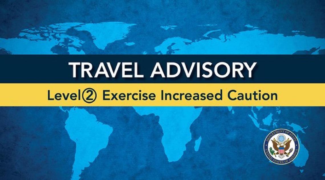 Travel Advisory Level 2
