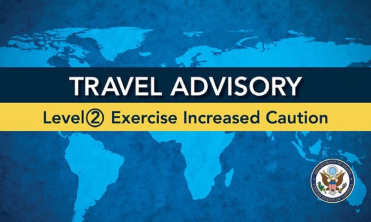 Travel Advisory Level 2
