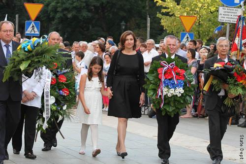 Uroczystości pod Pomnikiem Nieznanego Żołnierza w Krakowie