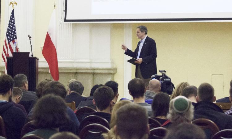 Amb. Paul W. Jones U.S.-Polish Relations Speech at Warsaw Polytechnic.