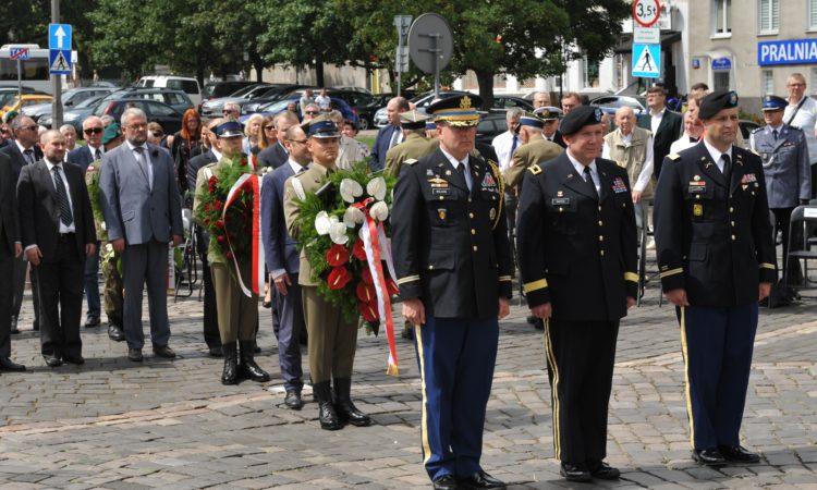 Ambasada upamiętniła amerykańską Polonię walczącą w Błękitnej Armii