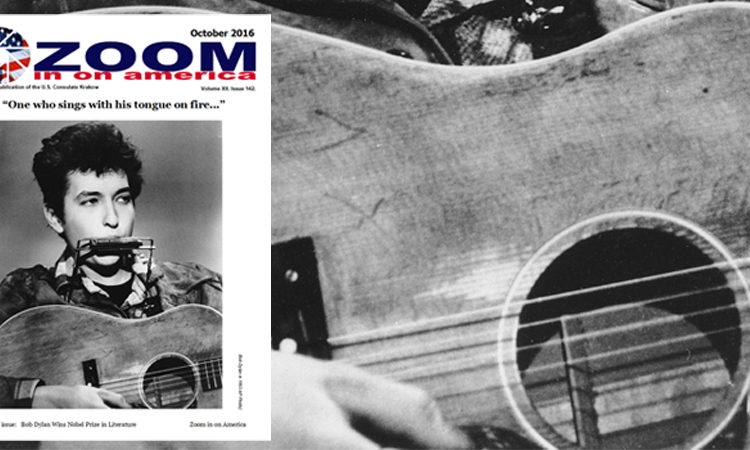 Cover of the October issue of Zoom in on America