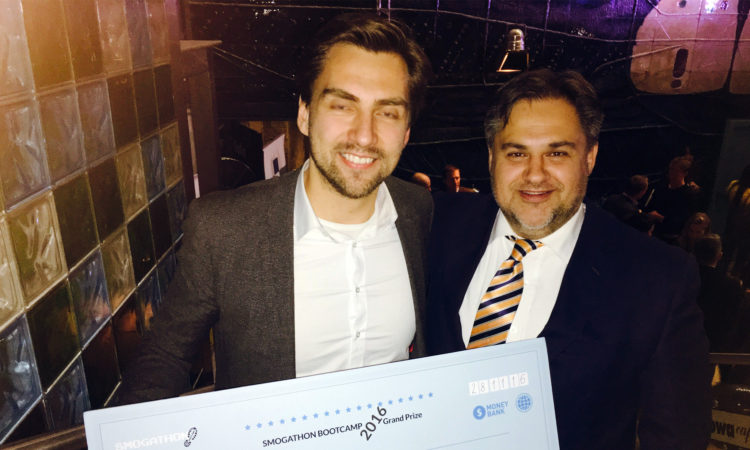 The winner of Smogathon has been announced