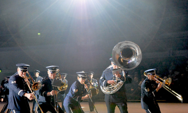 The United States Air Force Europe (USAFE) Band