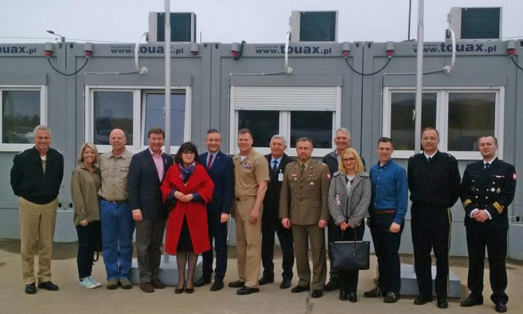 Amerykańska Delegacja Kongresowa z wizytą w Redzikowie