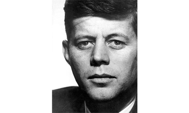Senator John F. Kennedy from Massachusetts, 1957 (Photo Philippe Halsman/Magnum Photos)