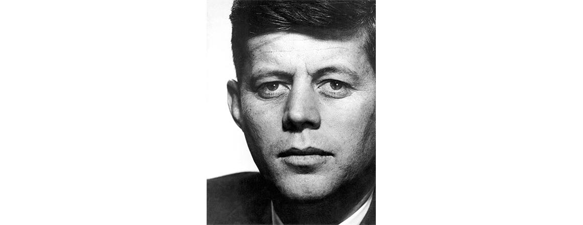 John F. Kennedy - Yousuf Karsh