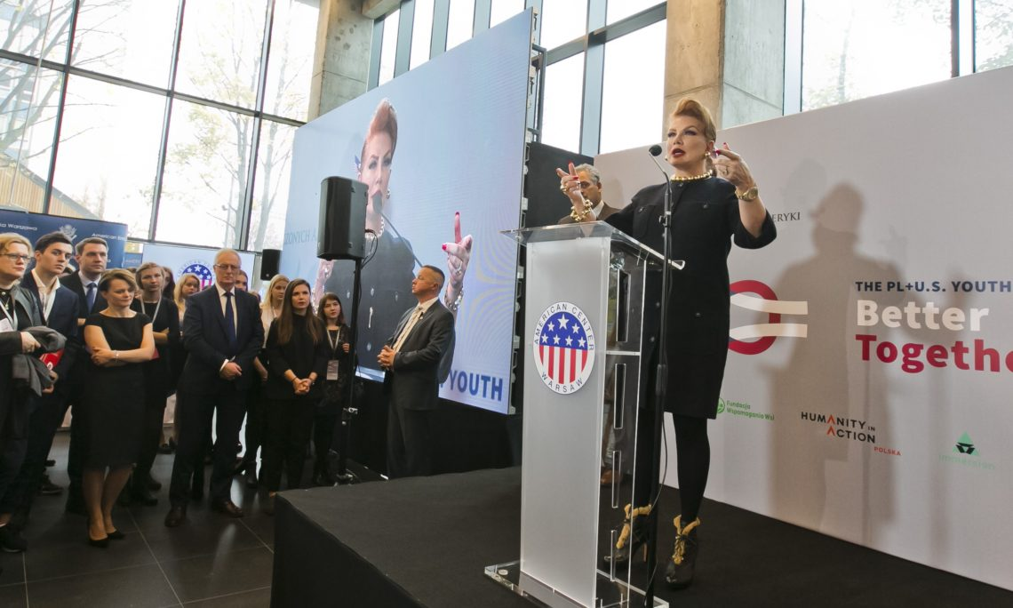 fd99a627584 Embassy Holds Forum for Polish Youth and Officially Opens the American  Center Warsaw